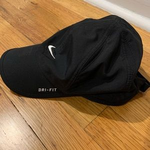 Nike, Dri Fit Running Hat, Black